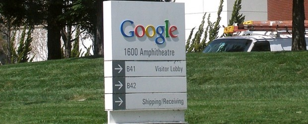 Google Welcome Sign