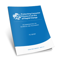 cover of FTC report on privacy