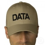 """Data Cap"" - A Man Wearing a Cap Reading ""DATA"""
