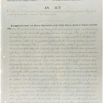 Morrill Act First Page