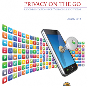 Privacy on the Go report cover