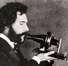 Actor_portraying_Alexander_Graham_Bell_in_an_AT&T_promotional_film_(1926)