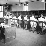 Telephone Operators at Work