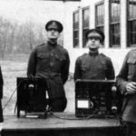 First Air-to-Ground and Ground-to-Air Radio Communications. July 1917