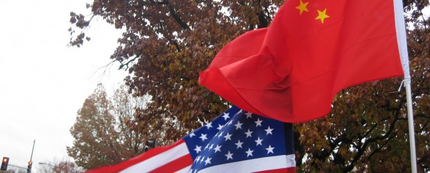 US and Chinese Flags
