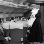 Lucy smuggles a 30 lb. cheese onboard a plane disguised as a baby to avoid the excess baggage fee.