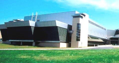 Photograph of the NIST Advanced Measurement Laboratory (AML) building Gaitherburg, MD