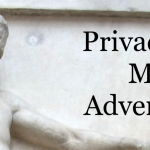 """Cover of report """"Privacy and Modern Advertising """""""