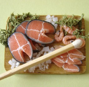 Salmon Preparation Board