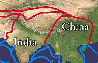 The Importance Of IPR In The New Silk Road Initiative The - Us new silk road map
