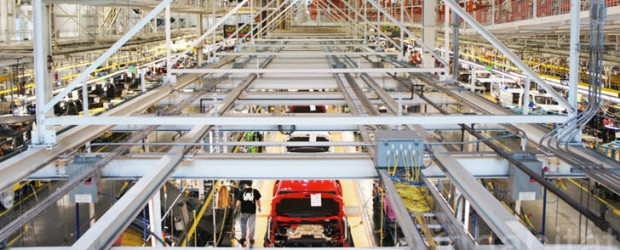 Floor Of Manufacturing Facility